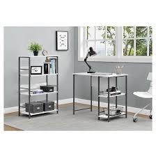 Desk Shelf Combo by Garrett Student Desk And Bookcase Combo White Altra Target