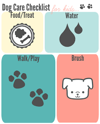 petcare checklist for kids and moms pint sized treasures