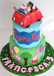 peppa pig cakes celebrate with cake peppa pig cake