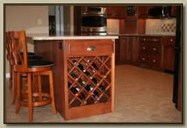 kitchen island wine rack kitchens with wine racks in end cabinets add a wine rack to the