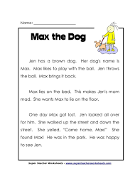 free printable reading comprehension worksheets for th grade best