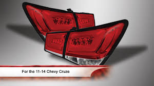 2014 cruze tail lights 2011 2014 chevy cruze led tail lights youtube