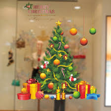 christmas tree vinyl removable wall sticker colormix in wall christmas tree vinyl removable wall sticker colormix