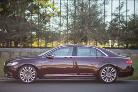 lincoln continental test drive 2017 lincoln continental cool hunting