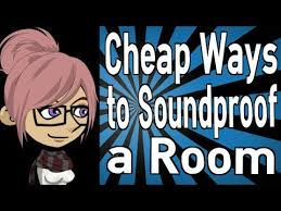 How To Soundproof Your Bedroom Door Cheap Ways To Soundproof A Room Youtube