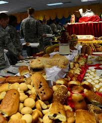thanksgiving meal gives deployed members a taste of home u s