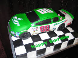 nascar birthday cake this fondant covered race car cake is u2026 flickr
