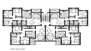 Multi Unit Apartment Floor Plans Apartment 8 Unit Apartment Building Plans