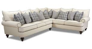 Shabby Chic Armchairs by Klaussner Ashworth Shabby Chic Sectional Sofa Dunk U0026 Bright