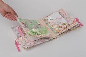 baby scrapbook album madeheart handmade baby scrapbook album in bright pink color