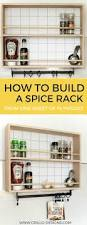 Kitchen Spice Rack Ideas The 25 Best Hanging Spice Rack Ideas On Pinterest Spice Racks