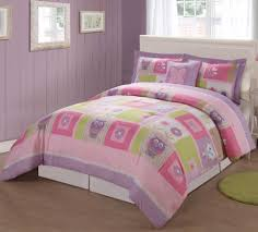 bedding for little girls pink owl twin bedding home beds decoration