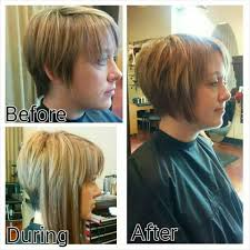 hair extensions for bob haircuts added extensions to help grow out pixie cut hairs n cuts