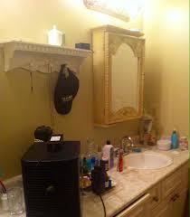 cheap bathroom makeover ideas before u0026 after pam u0027s budget bathroom makeover thrift diving blog