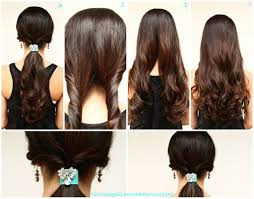 easy prom hairstyles for long hair to do at home simple and easy