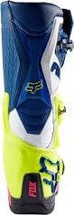 blue motocross boots 2017 fox racing comp 8 boots mx atv motocross off road dirt bike