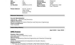 resume format for freshers engineers computer science resume