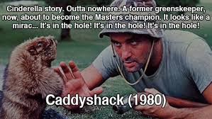 Carl Spackler Meme - bill murray caddyshack meme golf sandpoint elks