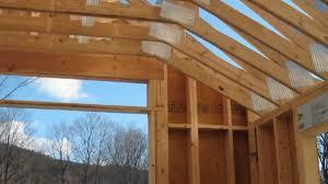 Hip Roof Trusses Prices Custom Wood Scissor Truss For Garage Youtube