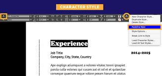 Creative Resume Headers Create A Professional Resume Adobe Indesign Cc Tutorials