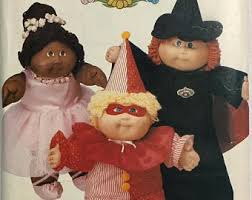 Cabbage Patch Doll Halloween Costume Kids Halloween Costume Etsy