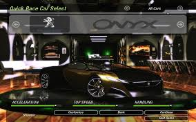 onyx peugeot need for speed underground 2 peugeot onyx nfscars