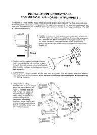 fiamm 12v u0027dixie land u0027 air horn help which hose goes where