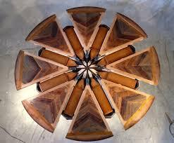 Expanding Tables Western Heritage Furniture Custom Rustic Santa Fe