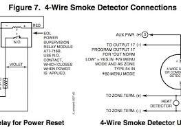 adorable 4 wire smoke detectors on zone 1 ademco vista 20p