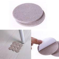 Felt Chair Protectors 18pcs Self Adhesive Floor Furniture Wall Chair Scratch Protector