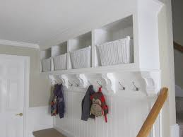 bench seats lockers cubbies mudroom traditional entry