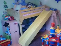 rutsche kinderzimmer rutsche für ein hochbett bauanleitung zum selber bauen