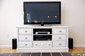 Bedroom Dresser Tv Stand Rustic Dresser Tv Stand Bedroom Combo For Tv Decor 18
