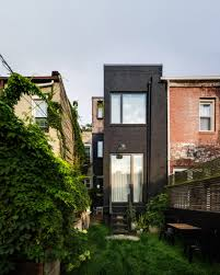 rowhou com office of architecture adds rooftop master suite to brooklyn row house