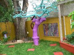 Tree Ideas For Backyard Bright Painting Ideas For Decorating Trees Creative Backyard Ideas