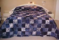 Purple Velvet Comforter Patchwork Velvet Bedspreads Ebay