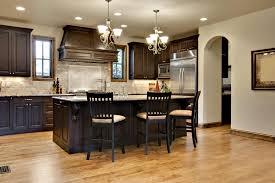 Dark Kitchen Cabinets Light Countertops Kitchen Amazing Kitchen Wall Colors With Dark Oak Cabinets Light