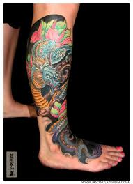 32 beautiful leg tattoos