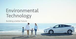 toyota company information toyota global site environmental technology