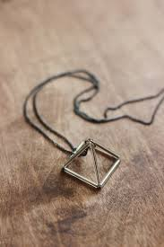 diy necklace images Diy triangle prism necklace the merrythought jpg
