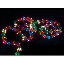 9 light garland with 300 multi color mini lights