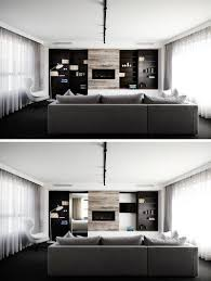 Modern House Living Room Sisalla Interior Design Complete A New Home In Melbourne
