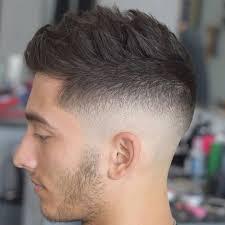 textured top faded sides skin fade haircut bald fade haircut