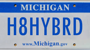 Vanity Playes All The Vanity Plates Banned In Michigan Including Some Really