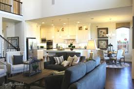 model home family room home and home ideas