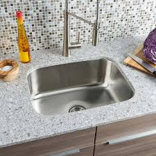 Single Tub Kitchen Sink Hahn Chef Series Large Single Bowl Sink