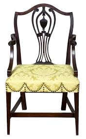 Patio Furniture Rhode Island by Mahogany Hepplewhite Armchair Rhode Island Or Connecticut Circa