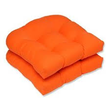Orange Patio Cushions by Ak Trading Upholstery Foam High Density Cushion Seat Replacement