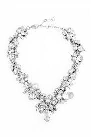 wedding accessories rental white wedding necklace wedding necklaces retail and swarovski