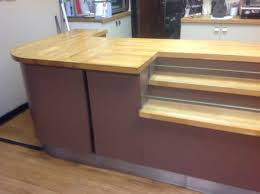 Second Hand Reception Desk by Secondhand Shop Equipment Reception Desks And Shop Counters